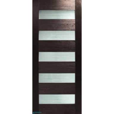 Межкомнатная дверь Форте note ПВХ полотно со стеклом