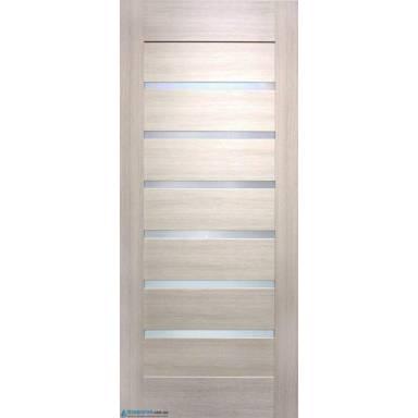 Межкомнатная дверь Лагуна ПВХ полотно со стеклом