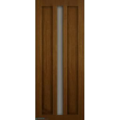 Межкомнатная дверь Римини ПВХ со стеклом