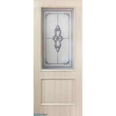 Межкомнатная дверь Версаль ПВХ полотно со стеклом