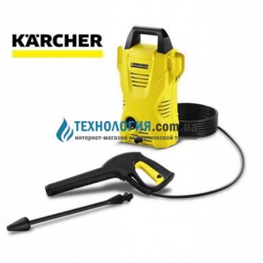 Мойка высокого давления Karcher K2 Compact бытовая с интегрированной системой очистки воды