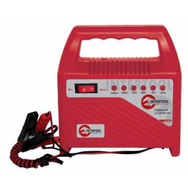 INTERTOOL АТ 30-12 6В-12В 220В зарядное устройство со стрелочным индикатором