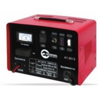 INTERTOOL АТ 30-15 12В-24В 230В 30/20А пуско-зарядное устройство