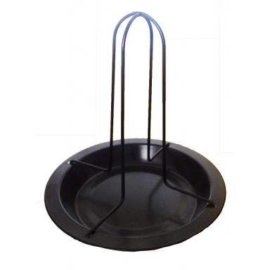 Приспособление для приготовления птицы целяком с поддоном диаметр 13 см.