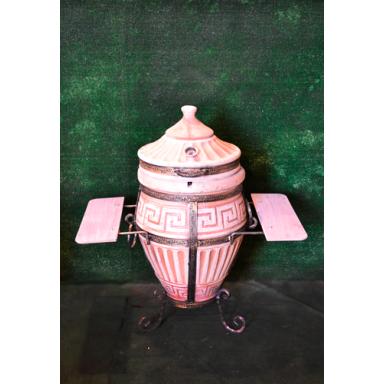"""Печь тандыр """"Античный малый"""" объем 50 литров с поворотной крышкой"""