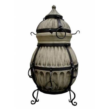 """Печь тандыр """"Славянский 2"""" объем 70 литров с решеткой сеткой и шомпурами в комплекте"""