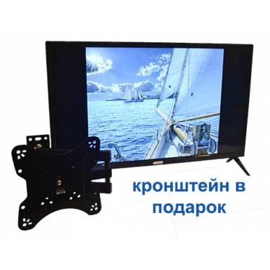 "LED телевизор диагональ 32"" ТВ+USB+кронштейн настенный. Tehni-x LED L34"