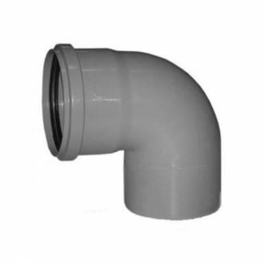 Канализационное колено Европласт диаметр 75 мм угол 90°