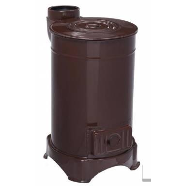 печь-буржуйка  (каминофен-буржуйка) DUVAL erendemir EYС-303- 4 квт, с варочной поверхностью, металл эмалированный