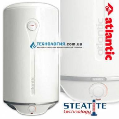 Бойлер Atlantic Steatite Pro New VM 050 D400-2-BC, медный ТЭН объём, 50 литров