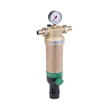 Фильтр для горячей воды Honeywell F76S AAM 1*2 дюйма (Хоневелл с обратной промывкой)