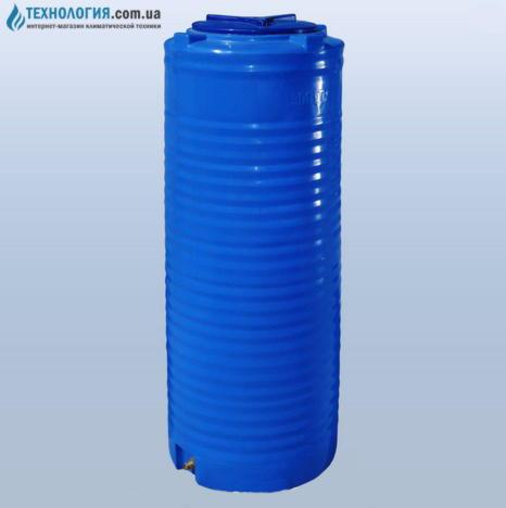 emkost-300-litrov-uzkaya-vertikalnaya-dvuhslojnaya